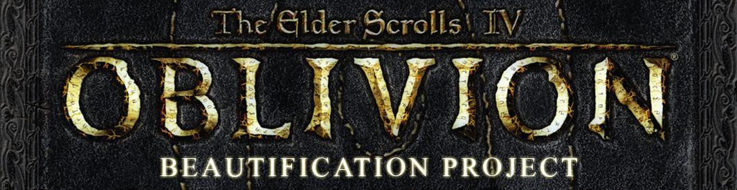 Oblivion Beautification Project - Mod-List