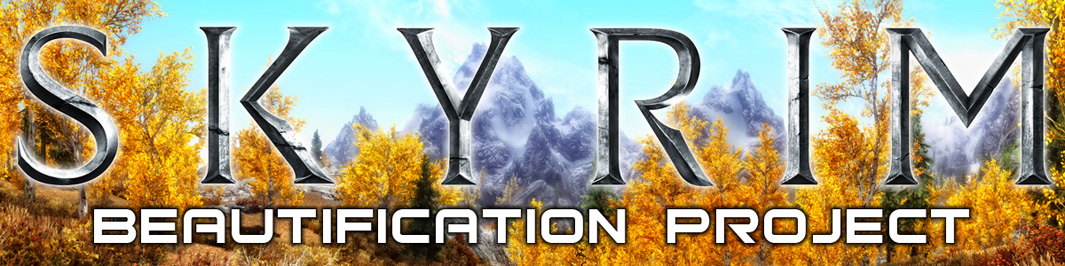 Skyrim Beautification Project - Optional Mods