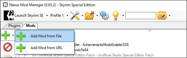 Skyrim SE Beautification Project - Mod-List